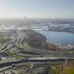Het landschap van de Metropoolregio Amsterdam. (Foto: https://beeldbank.rws.nl, Rijkswaterstaat / Aerophoto Schiphol)